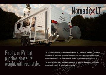 NomadiX LT Brochure - Spinifex Caravans