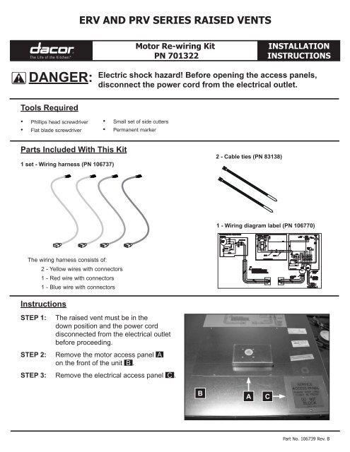 Power Vent Wiring Diagram