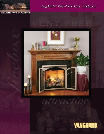Vent-Free Gas Fireboxes LogMate - BEIT NAR fireplace company in ...
