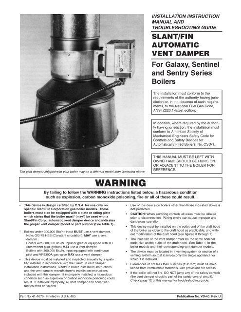 vent damper model number on slant fin boiler piping diagram, slant fin  boiler dimensions,