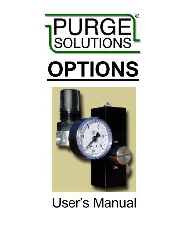 User's Manual - Purge Solutions