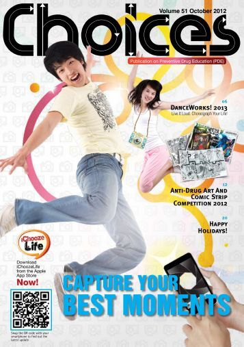 October 2012 Choices Magazine for Teens - Central Narcotics Bureau