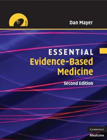 Essential Evidence-based Medicine, Second Edition (Essential ...