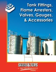 Shand & Jurs Brochure - L&J Technologies