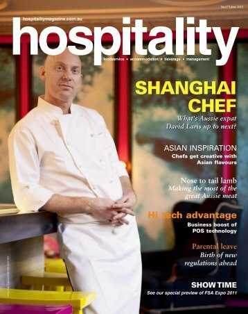 download Hospitality June 2011 - Foodservice Gateway