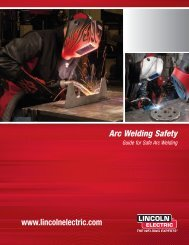 E205 Arc Welding Safety - Lincoln Electric