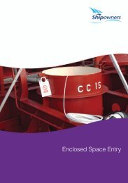 Enclosed Space Entry - Shipowners