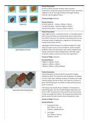 Product Description - Claybricks.com.sg
