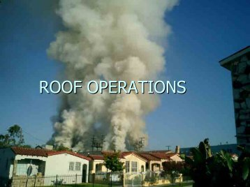 Roof Operations by Craig Reed