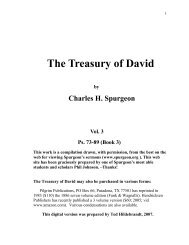 Treasury Of David Volume 2 By Charles Spurgeon Scotknight