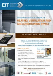 heating, ventilation and air-conditioning (hvac) - the Engineering ...