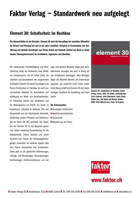 element 30 - Keller AG Ziegeleien