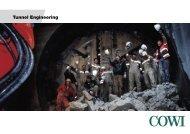 Tunnel Engineering (pdf) - COWI Gulf