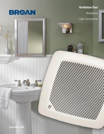 Ventilation Fans Residential Light Commercial - Blue Phoenix ...
