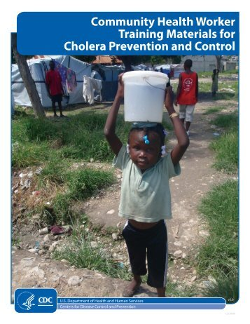 Community Health Worker Training Materials for Cholera Prevention ...