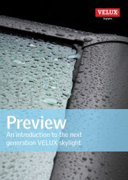 An introduction to the next generation VELUX skylight