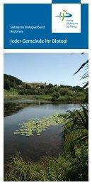 Flyer Sielmanns Biotopverbund Bodensee (PDF - Heinz Sielmann ...