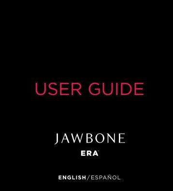 USER GUIDE - Jawbone