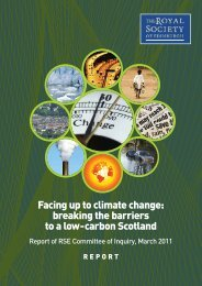 Facing up to climate change - The Royal Society of Edinburgh