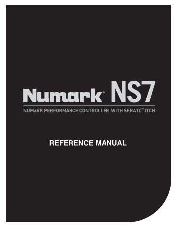 NS7 Reference Manual - v1.1 - Numark