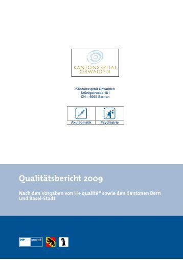 E Verfahren der internen Qualitätssicherung - Kantonsspital ...