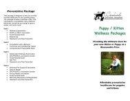 Puppy & Kitten Wellness Packag - Creekside Animal Hospital