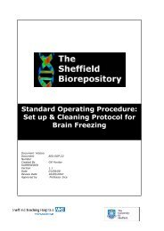 Standard Operating Procedure: Set up & Cleaning Protocol for Brain ...