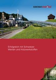 Erfolgreich mit Schweizer Werten und Holzwerkstoffen - SWISSCDF