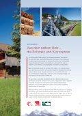 Erfolgreich mit Schweizer Werten und Holzwerkstoffen - SWISSCDF - Seite 7