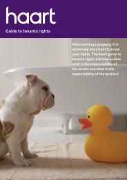 Guide to tenants rights - Haart