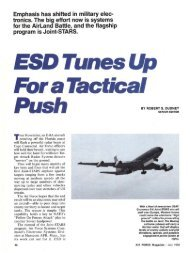 ESD Tunes Up For a Tactical Push - Air Force Magazine