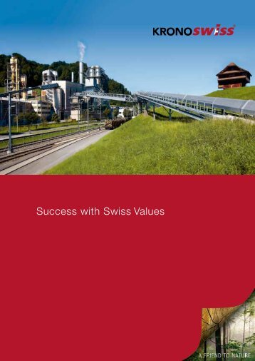 Success with Swiss Values - SWISSCDF