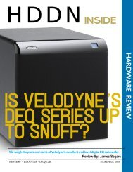 Is Velodyne's DEQ series up to snuff? - Highdefdiscnews.com ...