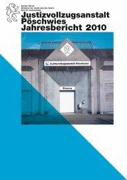 Jahresbericht 2010 (PDF, 1 MB) - Amt für Justizvollzug - Kanton Zürich