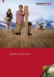 SWISS FLOOR 2011 - Kronospan Schweiz AG