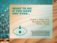 WHAT TO DO IF YOU HAVE DRY EYES... - Vision Surgery Rehab ...