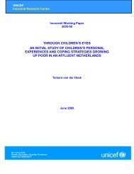 through children's eyes an initial study of children's personal ...