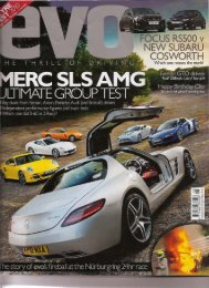 EVO Magazine - APS Technical Used For Buying Guide