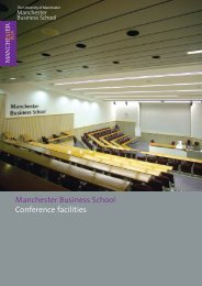 MBS_A4 4pp_conf brchr - Manchester Business School