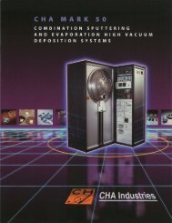 MARK 50 PDF - CHA Industries