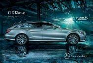 Broschüre des CLS Shooting Brake ... - Mercedes-Benz Österreich