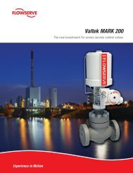 Valtek MARK 200 - Flowserve Corporation