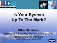 Is Your System Up To The Mark? Mike Nankivell - the ACR Show
