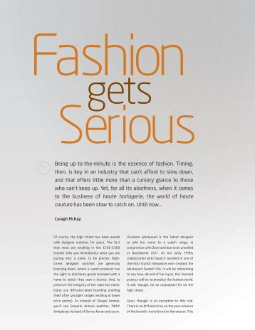 8 Being up-to-the-minute is the essence of fashion ... - QP Magazine