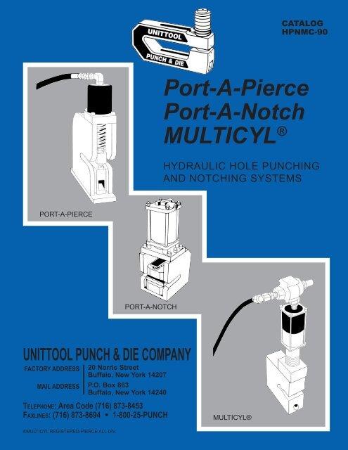 """Pierce All C-Frame 8-RD-2-1//4/"""" Die Punch Press Tool"""