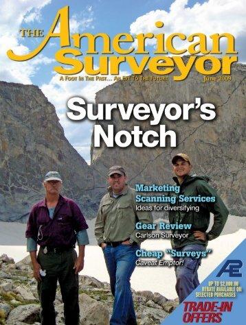 Surveyor's Notch - The American Surveyor
