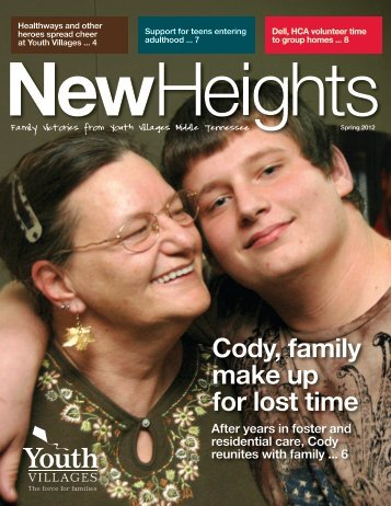 Cody, family make up for lost time - Youth Villages