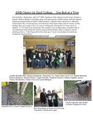 SWB Cleans Up Sault College… One Butt at a Time - Algoma Public ...