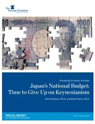 Japan's National Budget: Time to Give Up on Keynesianism