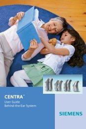 CENTRATM - Siemens Hearing Instruments